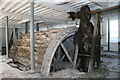 SO8802 : St Mary's Mill - waterwheel by Chris Allen