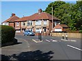 NY9463 : Traffic pinch-point on Bywell Avenue by Oliver Dixon