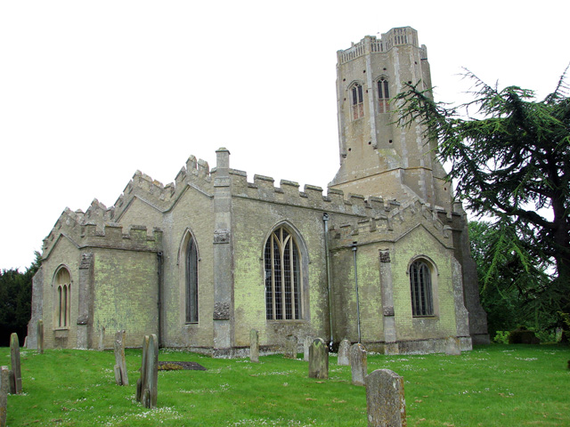 The church of SS Cyriac and Julitta in Swaffham Prior