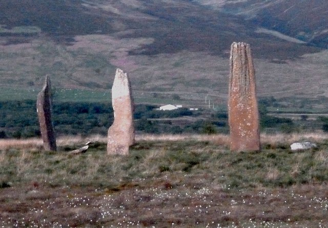 Stone circle, Machrie Moor