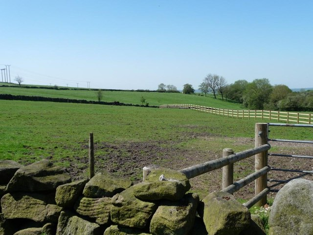 Farmland west of Hillside Farm