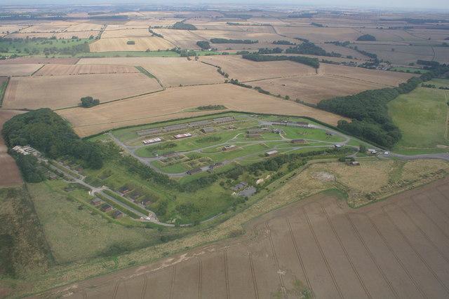 Former RAF Binbrook site, 2009