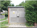 SE2830 : Electricity Substation No 7588 - Cardinal Road by Betty Longbottom