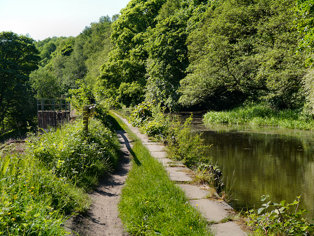 Manchester, Bolton and Bury Canal at Ringley.