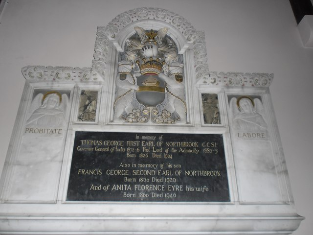 All Saints, East Stratton: memorial (i)