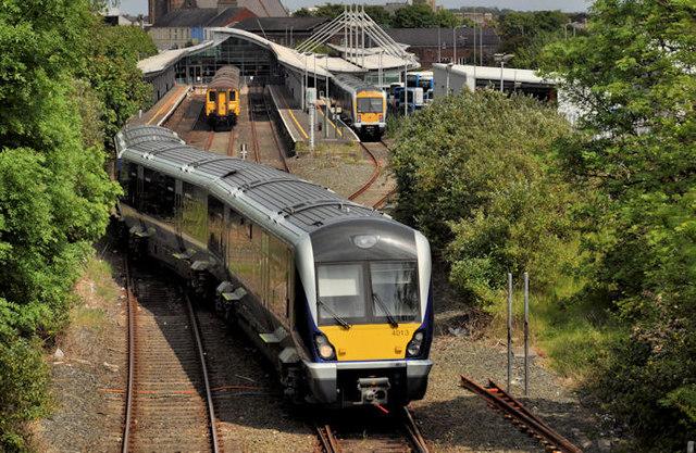 Train, Bangor