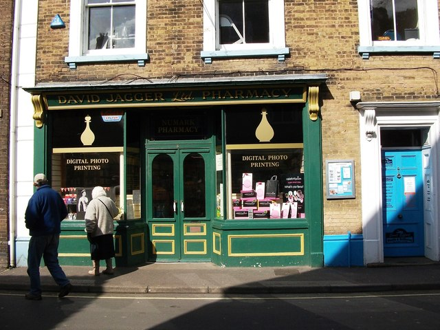 David Jagger Pharmacy, 5 Staithe Street, Wells