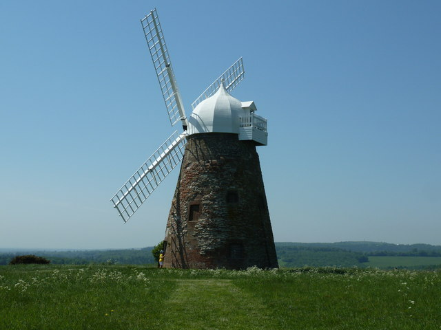 Halnaker Windmill viewed from the east
