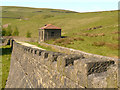 SD9612 : Piethorne Reservoir, Wall and Lime House by David Dixon