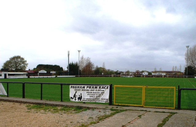 Nyetimber Lane, home of Pagham Football Club