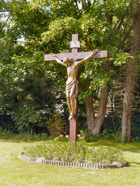 Crucifix, St Ambrose Barlow Church