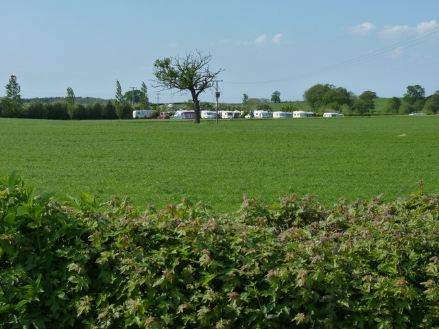 Caravan Club site at Wyndford Mill farm