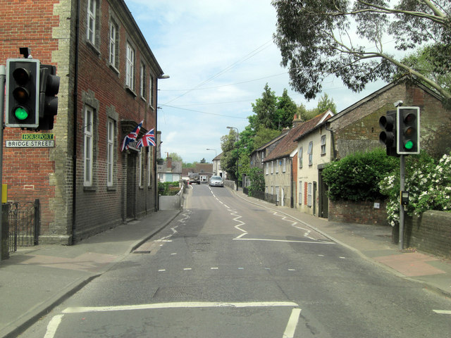 Bridge Street crosses the River Avon