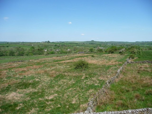 Staffordshire moorlands near Willow House