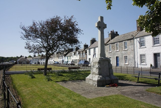 War memorial on South Crescent