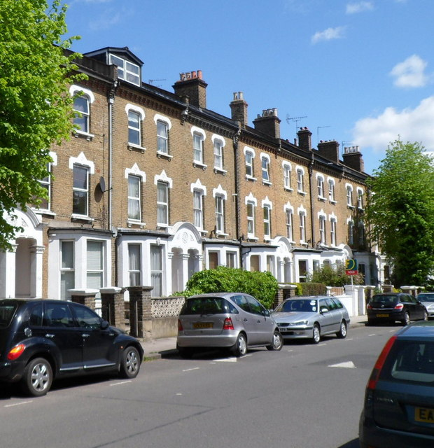 Iverson Road houses, London NW6