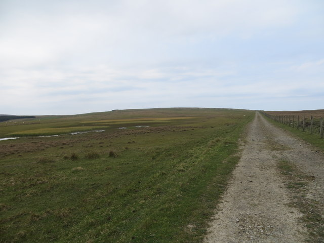 Track from Scrabster to the disused quarries