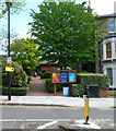 TQ2484 : Entrance to St Cuthberts Church West Hampstead by John Grayson
