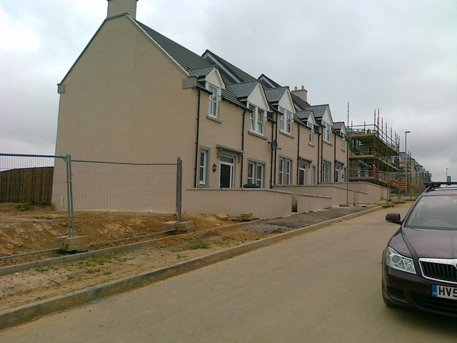 New houses, Greenhall Avenue, Insch