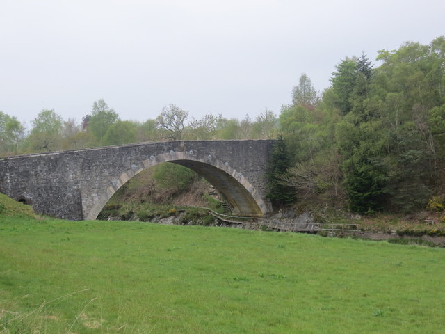Road bridge over the River Carron
