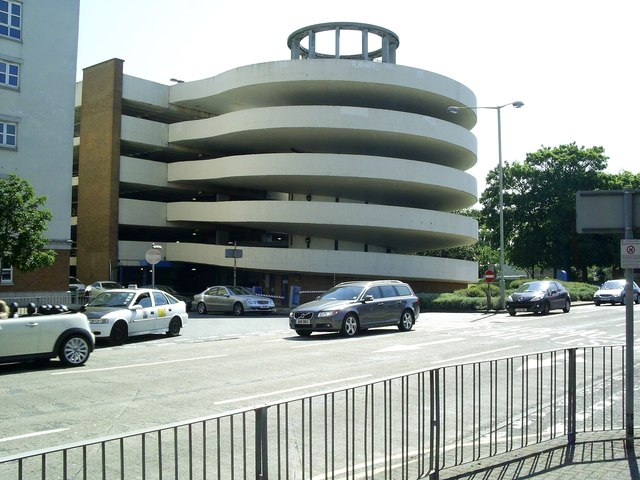 The Spiral Ramp Of Church Car Park Graham Hale