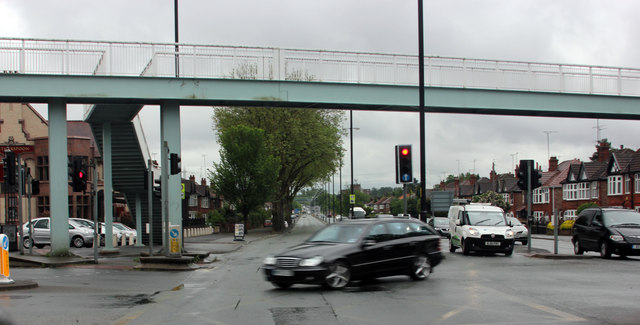 Kingsway (A34), Parrswood