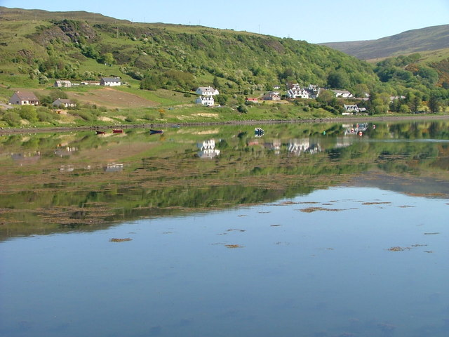Reflections on Uig Bay