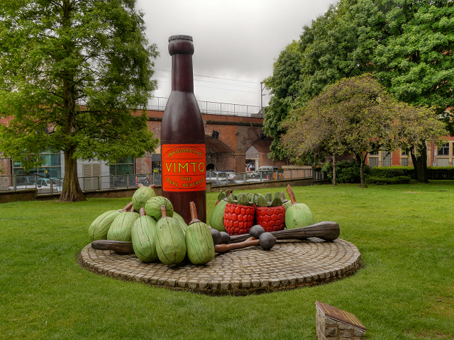 The Vimto Monument, Granby Row