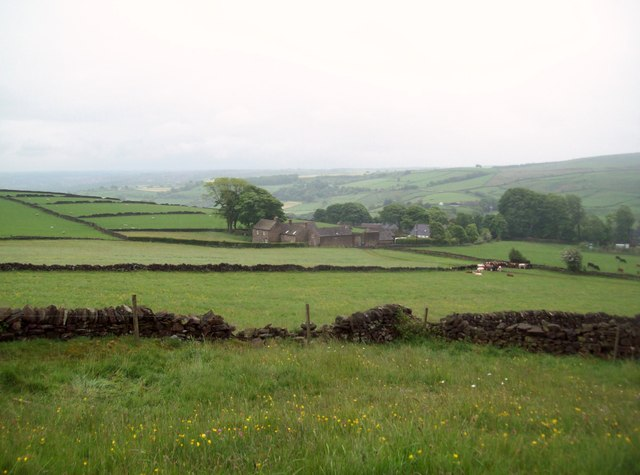 View Over Ughill and Adjoining Fields