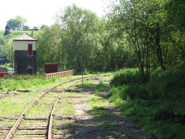 The former line to Stoke, Leekbrook Junction