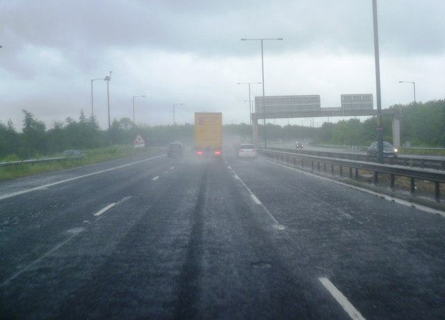 M56 at Wythenshawe