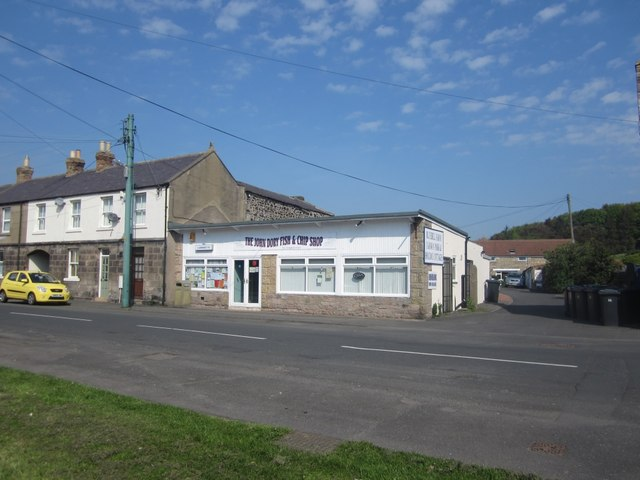 John Dory fish and Chip shop and laundrette