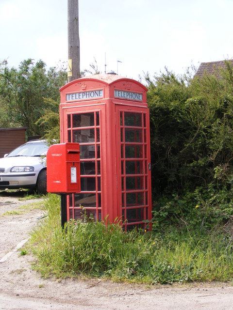Telephone Box & Black Street Postbox