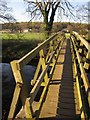 SE2159 : Footbridge over the Nidd by Derek Harper