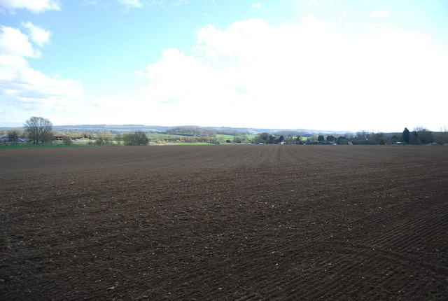Farmland by the Stour Valley Walk