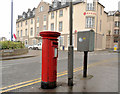 C8540 : Drop box and pillar box, Portrush by Albert Bridge