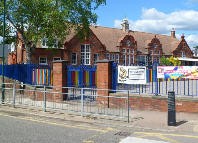 Western side of  Mora Primary and Nursery School, Cricklewood