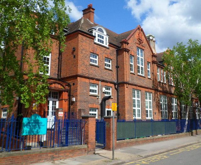 SE side of Mora Primary and Nursery School, Cricklewood