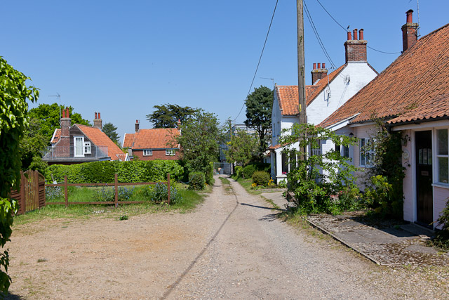 Houses off Leverett's Lane
