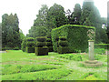 SP9911 : The Herb Garden, Ashridge House by Chris Reynolds