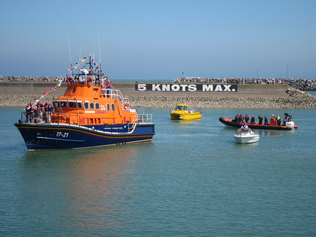 Newhaven Lifeboat at Sovereign Harbour