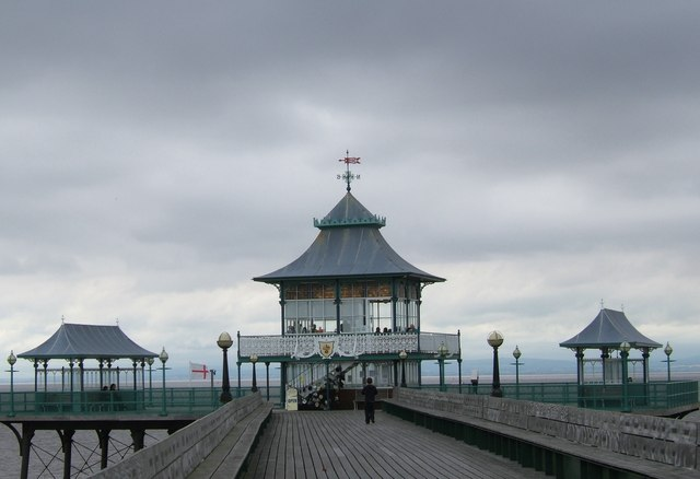 The western end of Clevedon Pier