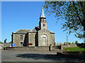 NS9346 : Carstairs Parish Church by Mary and Angus Hogg