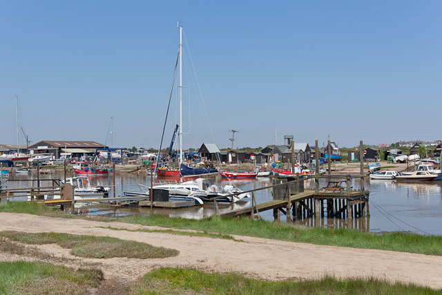 Part of Southwold Harbour on the River Blyth