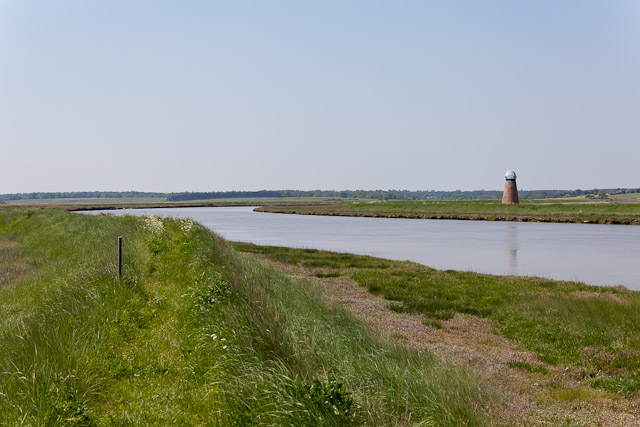 River Blyth running through marsh land