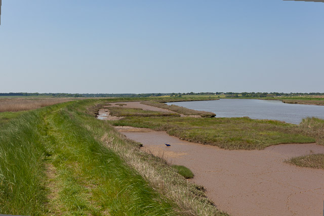 Footpath & Mudflats beside River Blyth
