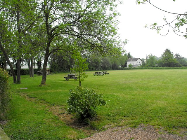 Picnic and camping field beside Gadfield Elm Chapel