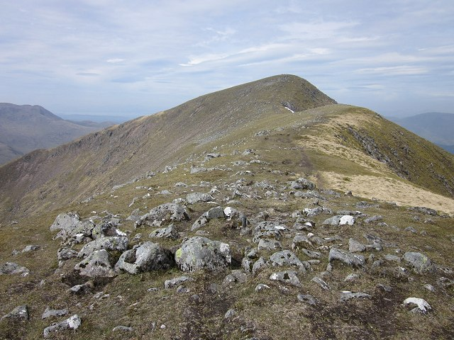 Eastern ridge of Beinn a Chocuill