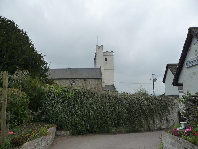St. Tudor's church at Mynyddislwyn