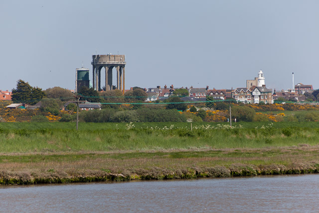 Southwold Water Towers from River Blyth